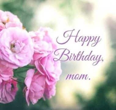 imagenes de cumpleaños para mama ramo de flores