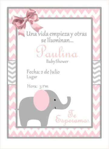 invitaciones virtuales baby shower con animales