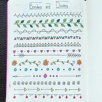 portadas para cuadernos faciles marcos y bordes