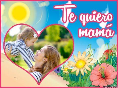 postales dia de las madres para colocar fotos