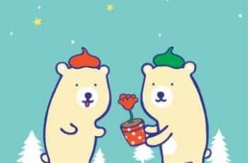 tarjetas de amistad para amigos bonitos dibujos