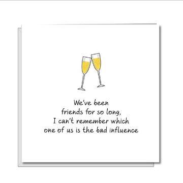 tarjetas de amistad para amigos minimalista