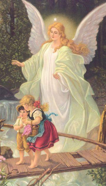 tarjetas de angeles con mensajes imagen clasica