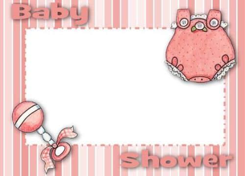 tarjetas de ropa para imprimir para baby shower