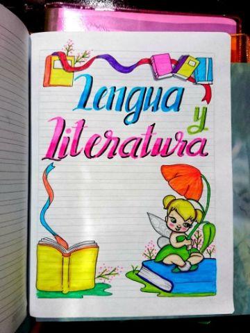 caratulas para cuadernos de niñas dibujos de personajes