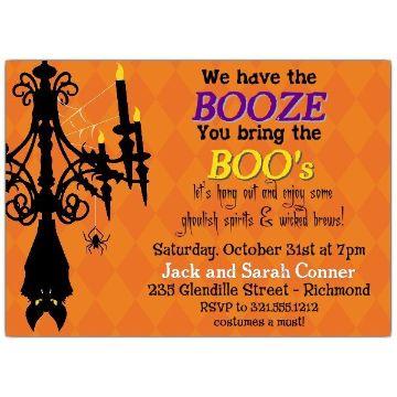 invitaciones de halloween para editar tres tipos de letras
