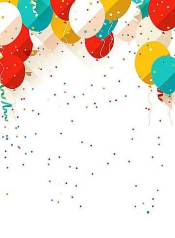 tarjetas de felicitación de cumpleaños fondos para editar