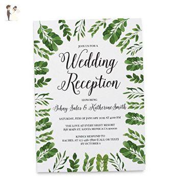 tarjetas de invitacion para recepcion marcos de flores