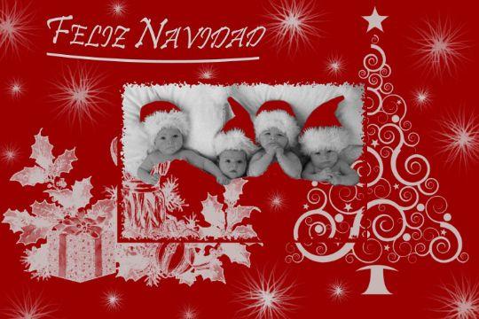 tarjetas de navidad 2020 digitales con fotos