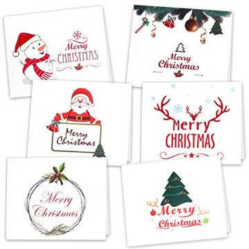 tarjetas de navidad 2020 minimalistas para imprimir