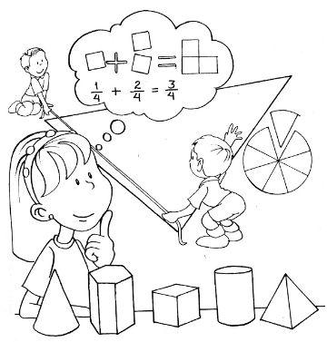 caratulas de matematicas para niños con ecuaciones
