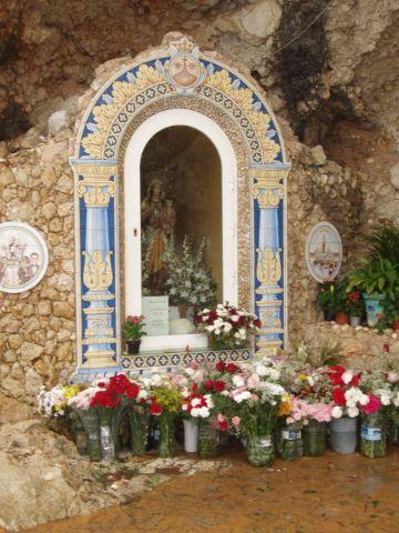 fotos de la virgen del carmen altar