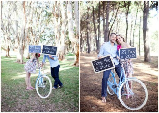 ideas para save the date fotos