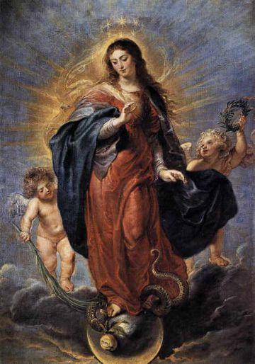 imagenes de la inmaculada concepcion pintura decorativa