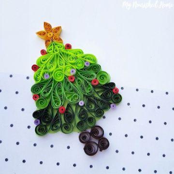 postales de navidad hechas a mano bonita textura con papel