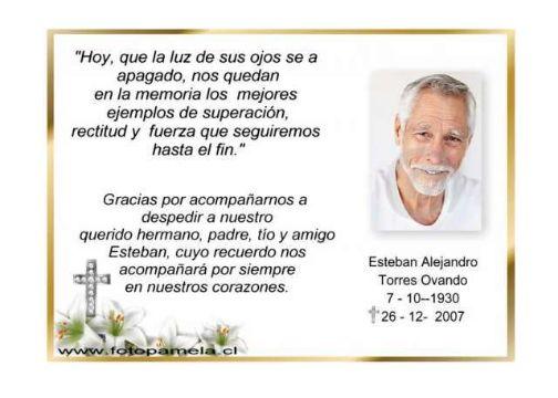 tarjetas de agradecimiento de condolencias con fotos