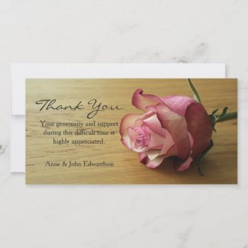 tarjetas de agradecimiento de condolencias formatos