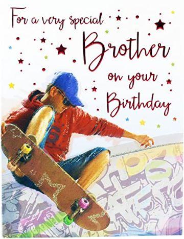 tarjetas de cumpleanos para hermano adolescente