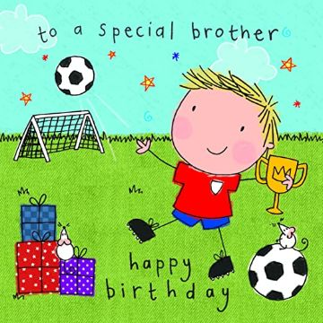 tarjetas de cumpleanos para hermano ilustraciones originales