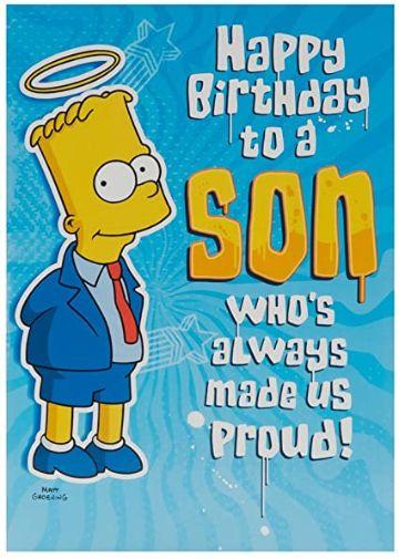 tarjetas de cumpleanos para hijo de personajes