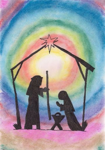 tarjetas de nochebuena y navidad fondos para imprimir