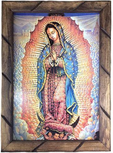 estampas de la virgen maria pintura
