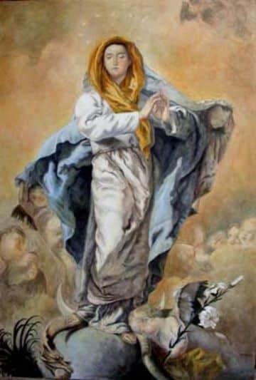 imagenes de inmaculada concepcion de Tiepolo