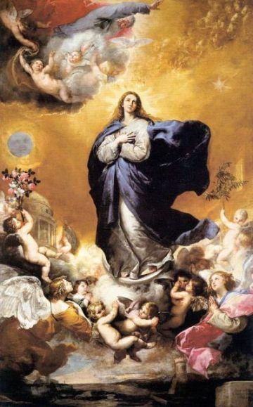 imagenes de inmaculada concepcion mural