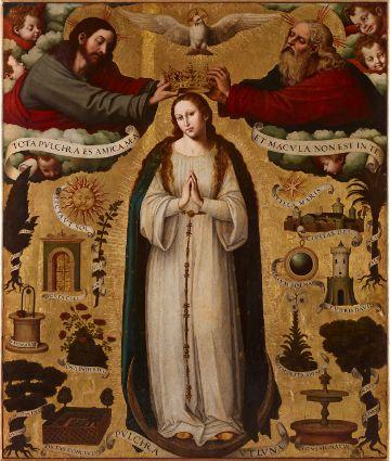 imagenes de inmaculada concepcion otra versión