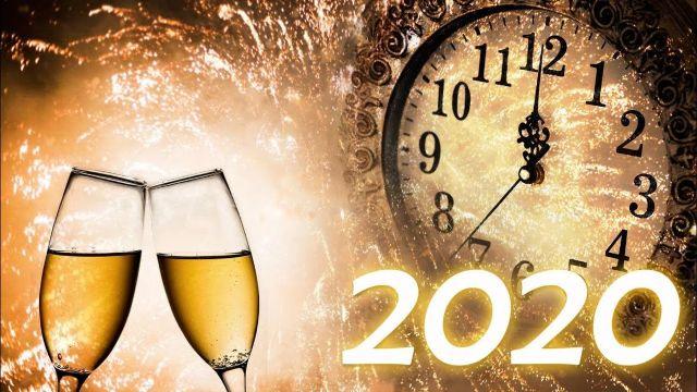 postales de año nuevo 2020 con puras imagenes