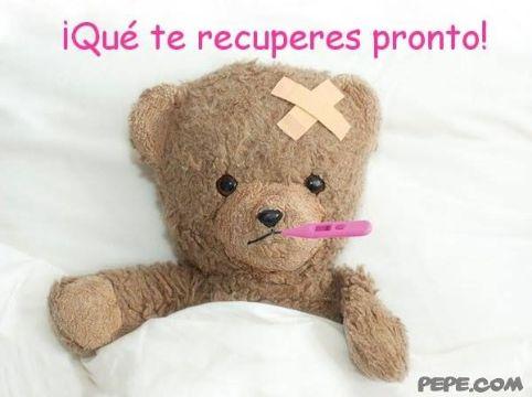 tarjetas para enfermos en recuperacion para niños