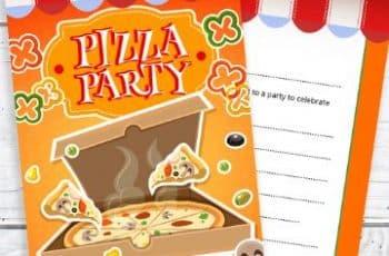 invitaciones para cumpleaños de niños comida favorita