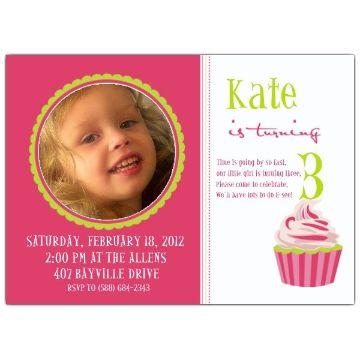 invitaciones para cumpleaños de niños con fotografias