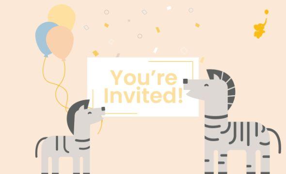 invitaciones para el baby shower con dibujos