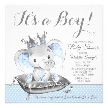 invitaciones para el baby shower con ternura