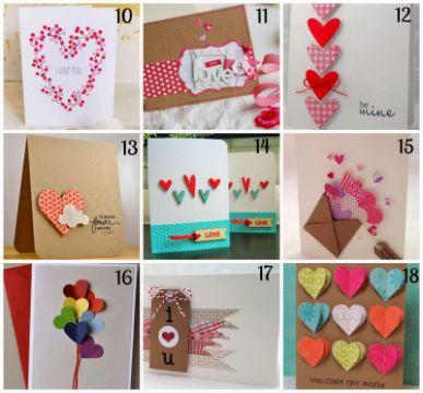regalos de san valentín para hombres tarjetas
