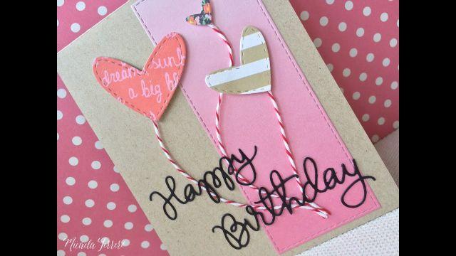 tarjeta de cumpleaños para mi hermana manual
