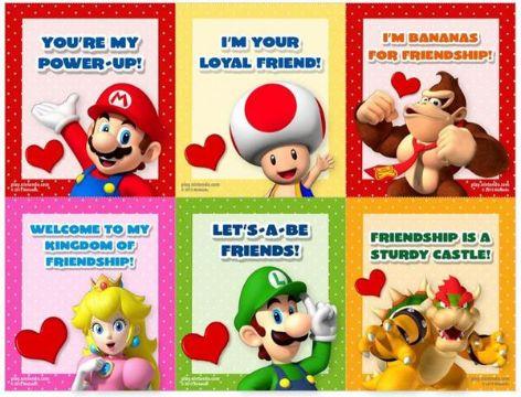 tarjetas de san valentin para amigas de personajes animados