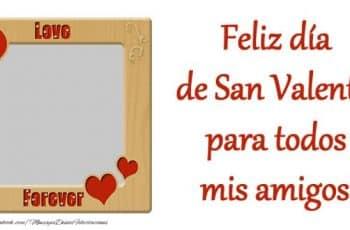 tarjetas de san valentin para amigas fotos