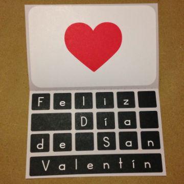tarjetas de san valentín para una amiga manualidades