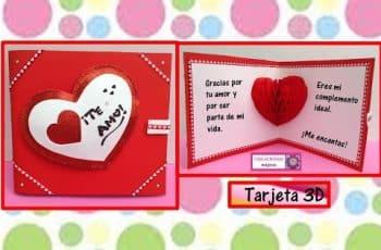 tarjetas por el dia del amor manuales para pareja