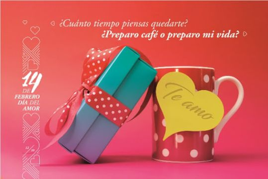 tarjetas por el dia del amor para promocion