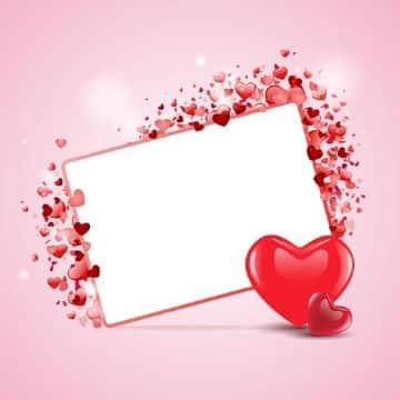 tarjetas por el dia del amor vector para editar