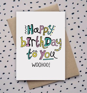 postales de feliz cumpleaños dibujos a mano