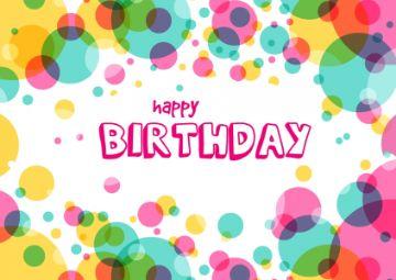 postales de feliz cumpleaños fondos para editar