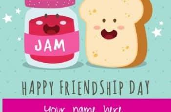 tarjetas por el dia de la amistad curiosas para editar