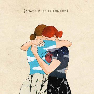 tarjetas por el dia de la amistad ilustraciones originales