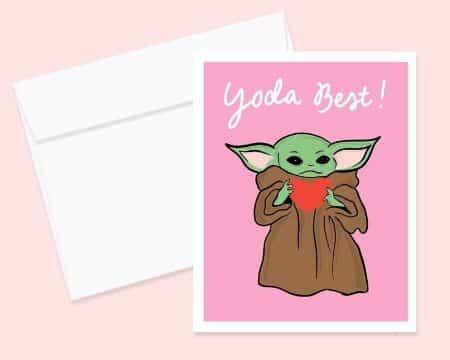 tarjetas por el dia de san valentin de personajes modernos