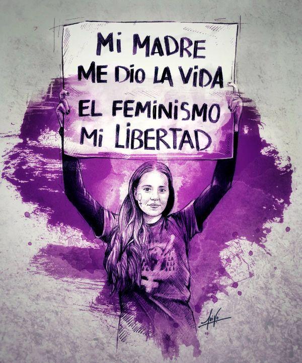 frases feministas cortas protesta
