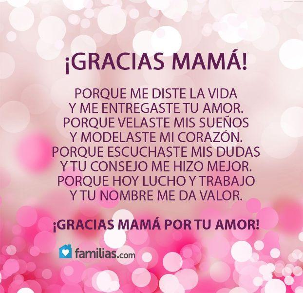 frases para una madre en su dia felicitación